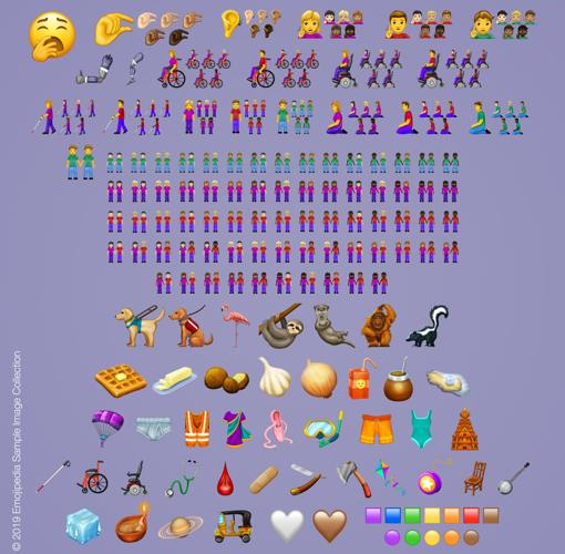 Lista de los nuevos emojis que llegaran en 2019