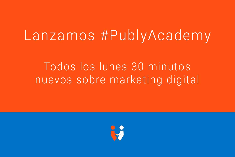 Primera sesión de PublyAcademy #1