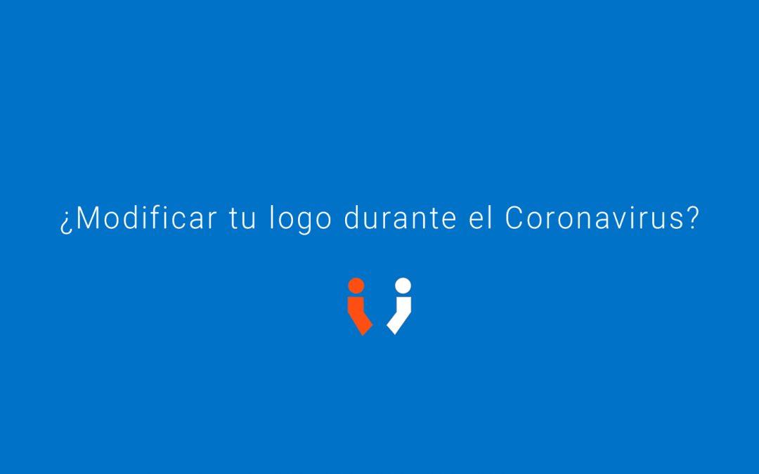 ¿Modificarías tu logo durante el Coronavirus?