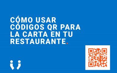 ¿Cómo usar códigos QR para la carta en tu restaurante? 🔥 [AHORRA]